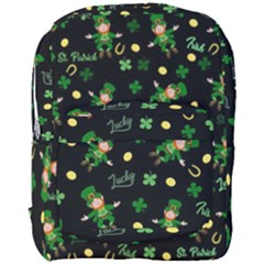 St Patricks Day Pattern Full Print Backpack