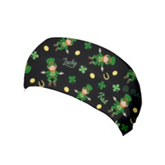 St Patricks Day Pattern Yoga Headband