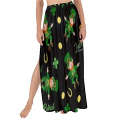 St Patricks Day Pattern Maxi Chiffon Tie Up Sarong