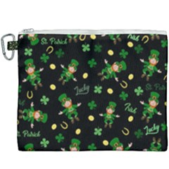 St Patricks Day Pattern Canvas Cosmetic Bag (xxxl)