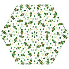 St Patricks Day Pattern Mini Folding Umbrellas