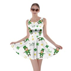St Patricks Day Pattern Skater Dress