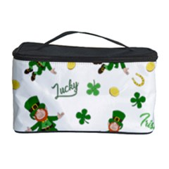 St Patricks Day Pattern Cosmetic Storage Case