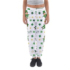 St Patricks Day Pattern Women s Jogger Sweatpants