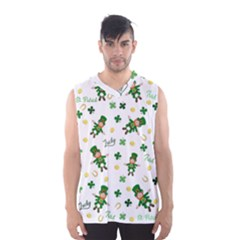 St Patricks Day Pattern Men s Basketball Tank Top