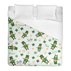 St Patricks Day Pattern Duvet Cover (full/ Double Size)