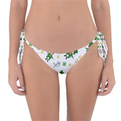 St Patricks Day Pattern Reversible Bikini Bottom