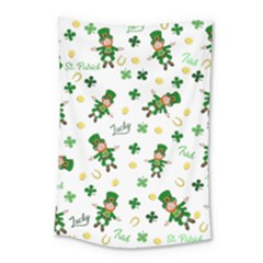 St Patricks Day Pattern Small Tapestry