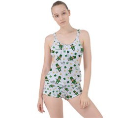 St Patricks Day Pattern Boyleg Tankini Set
