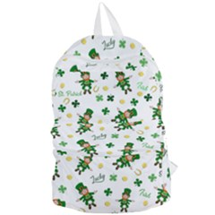 St Patricks Day Pattern Foldable Lightweight Backpack