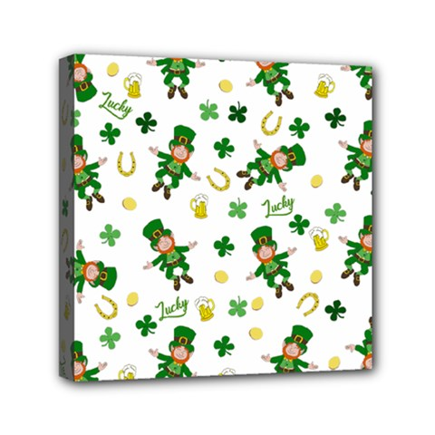 St Patricks Day Pattern Canvas Travel Bag
