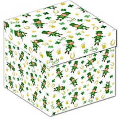 St Patricks Day Pattern Storage Stool 12