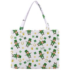 St Patricks Day Pattern Mini Tote Bag