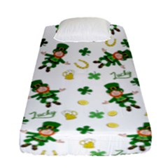 St Patricks Day Pattern Fitted Sheet (single Size)