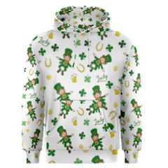 St Patricks Day Pattern Men s Pullover Hoodie