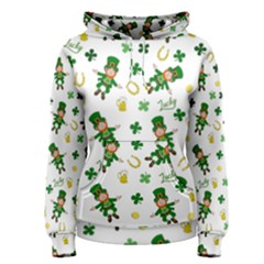 St Patricks Day Pattern Women s Pullover Hoodie