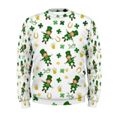 St Patricks Day Pattern Men s Sweatshirt