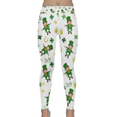 St Patricks Day Pattern Classic Yoga Leggings