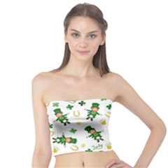 St Patricks Day Pattern Tube Top