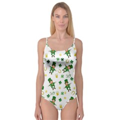 St Patricks Day Pattern Camisole Leotard