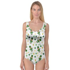 St Patricks Day Pattern Princess Tank Leotard