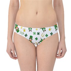 St Patricks Day Pattern Hipster Bikini Bottoms