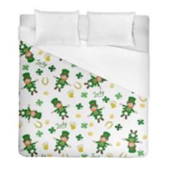 St Patricks Day Pattern Duvet Cover (full/ Double Size)