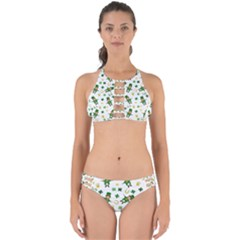 St Patricks Day Pattern Perfectly Cut Out Bikini Set