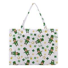 St Patricks Day Pattern Medium Tote Bag