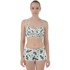 St Patricks Day Pattern Women s Sports Set