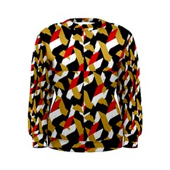 Colorful Abstract Pattern Women s Sweatshirt