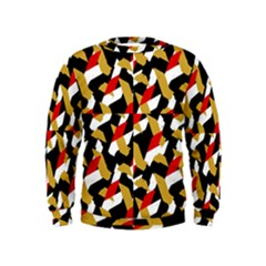 Colorful Abstract Pattern Kids  Sweatshirt