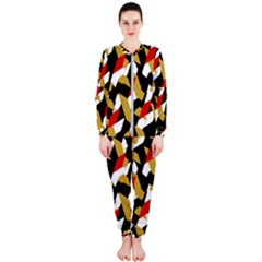 Colorful Abstract Pattern Onepiece Jumpsuit (ladies)
