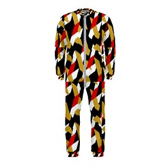 Colorful Abstract Pattern Onepiece Jumpsuit (kids)