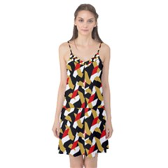 Colorful Abstract Pattern Camis Nightgown
