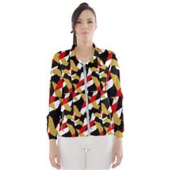 Colorful Abstract Pattern Wind Breaker (women)