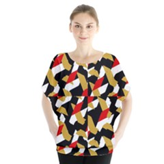 Colorful Abstract Pattern Blouse