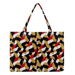 Colorful Abstract Pattern Medium Tote Bag