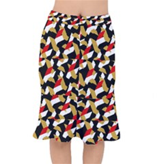 Colorful Abstract Pattern Mermaid Skirt
