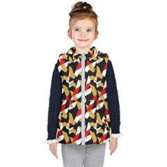 Colorful Abstract Pattern Kid s Puffer Vest