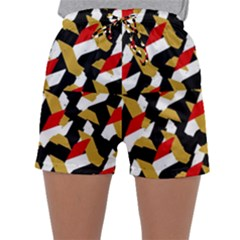 Colorful Abstract Pattern Sleepwear Shorts