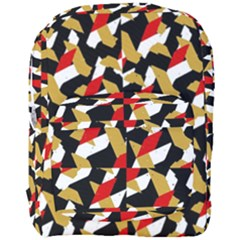 Colorful Abstract Pattern Full Print Backpack