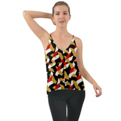 Colorful Abstract Pattern Cami