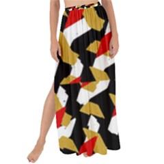 Colorful Abstract Pattern Maxi Chiffon Tie Up Sarong