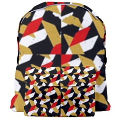 Colorful Abstract Pattern Giant Full Print Backpack