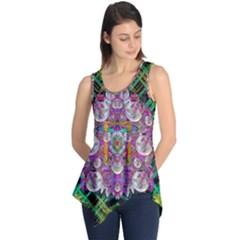 The Most Beautiful Planet Is Earth On The Sky Sleeveless Tunic