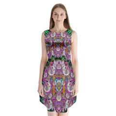 The Most Beautiful Planet Is Earth On The Sky Sleeveless Chiffon Dress