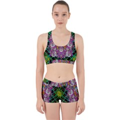 The Most Beautiful Planet Is Earth On The Sky Work It Out Sports Bra Set
