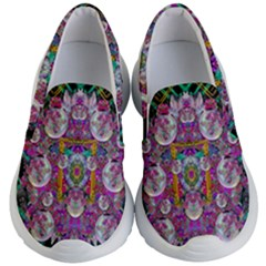 The Most Beautiful Planet Is Earth On The Sky Kid s Lightweight Slip Ons