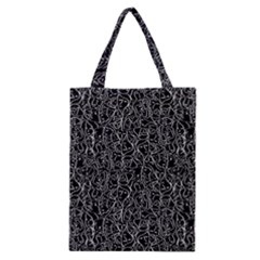 Elio s Shirt Faces In White Outlines On Black Crying Scene Classic Tote Bag